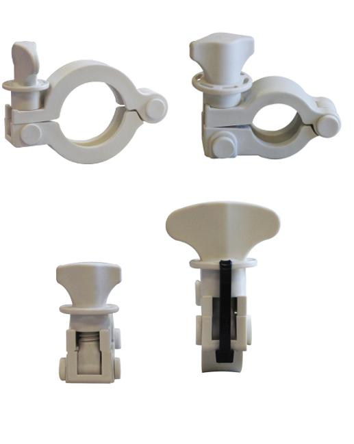 bio-ease plastic sanitary tri-clamp